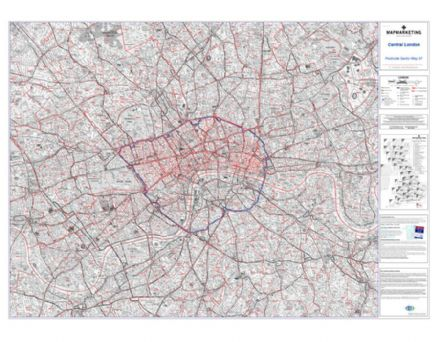 Postcode Sector Map 37 Central London